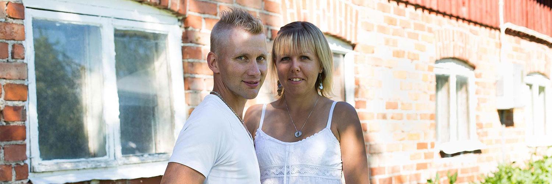 Skogsjö Gård Tommy ja Jessica